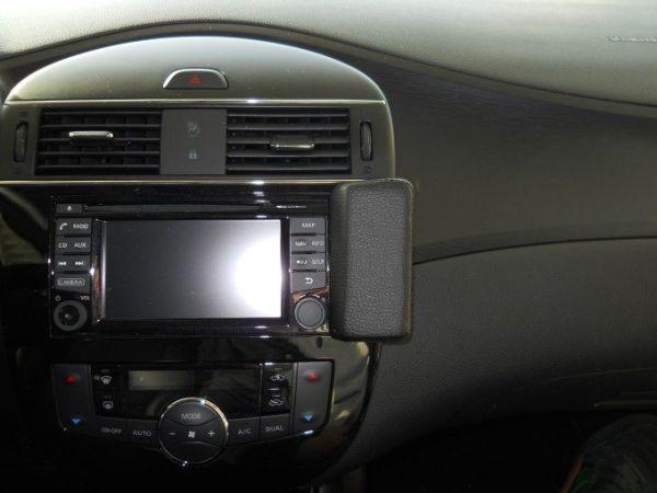 Perfect Fit Telefonkonsole Nissan Pulsar, Bj. 10/14 -, Kunstleder