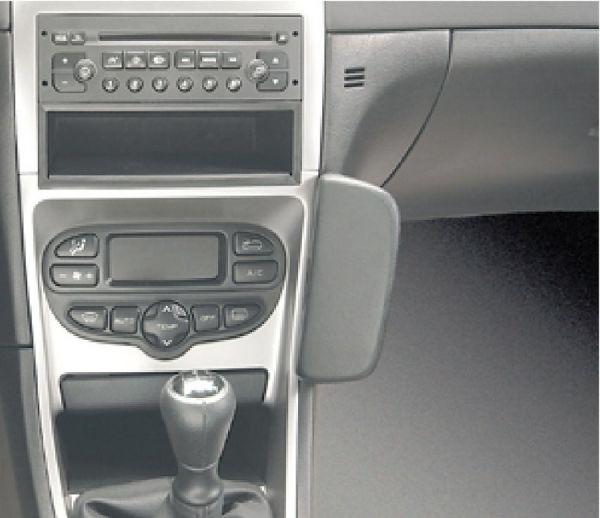 Perfect Fit Telefonkonsole Peugeot 307 SW, Bj. 01-, Kunstleder