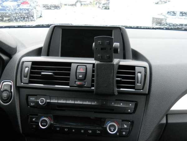 Perfect Fit Telefonkonsole BMW E90/E91/E92 (3er), Bj. 03/05-, Kunstleder