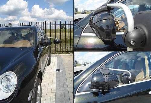 Repusel Wohnwagenspiegel Porsche Cayenne I Caravanspiegel