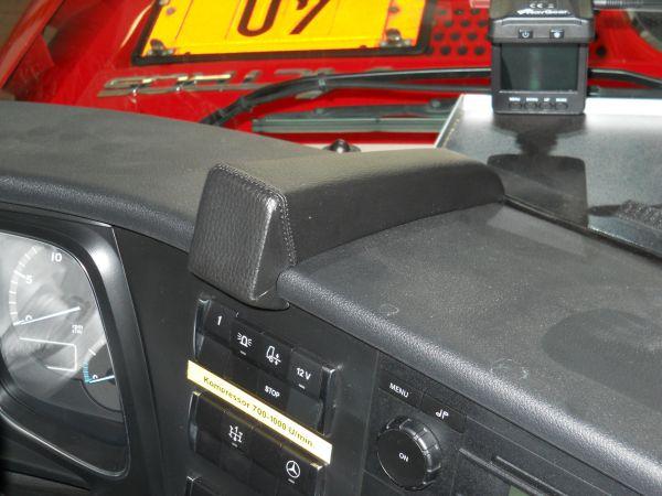 Perfect Fit Telefonkonsole Mercedes-Benz Actros 2. Generation, Bj. 11/11 -, Premium Echtleder