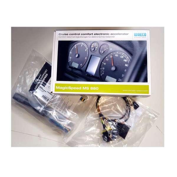 Tempomat Audi A4 (Modell 8K) ab Bj. 2008 DOMETIC WAECO MS-880 Komplettset Geschwindigkeitsregler