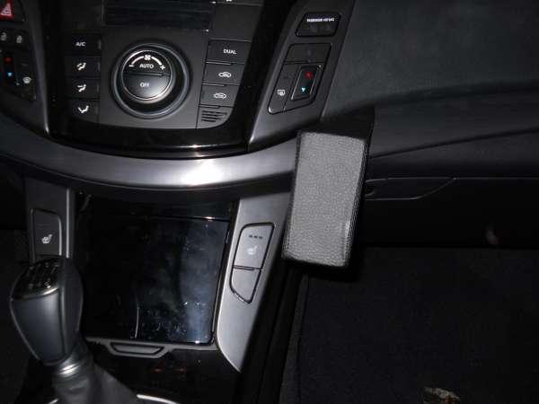 Perfect Fit Telefonkonsole Hyundai i40, Bj. 09/11 - Premium Echtleder