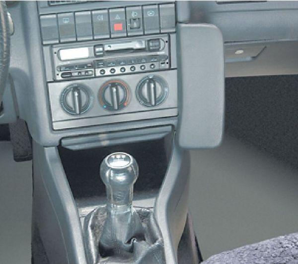 Perfect Fit Telefonkonsole Audi 80 Cabrio, Bj. 1991-08/2000 Kunstleder