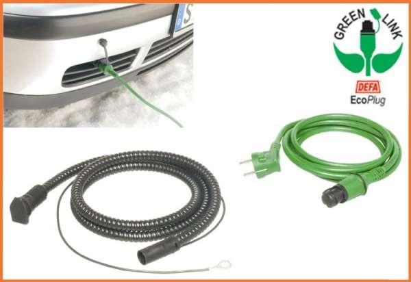 DEFA SafeStart Anschluss-Set 230 Volt für Motorvorwärmung