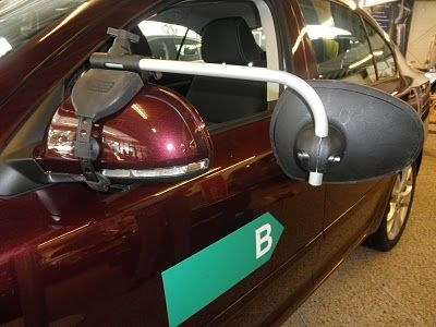 Repusel Wohnwagenspiegel Skoda Octavia Caravanspiegel