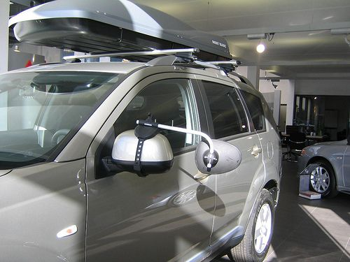 Repusel Wohnwagenspiegel Mitsubishi Outlander Caravanspiegel