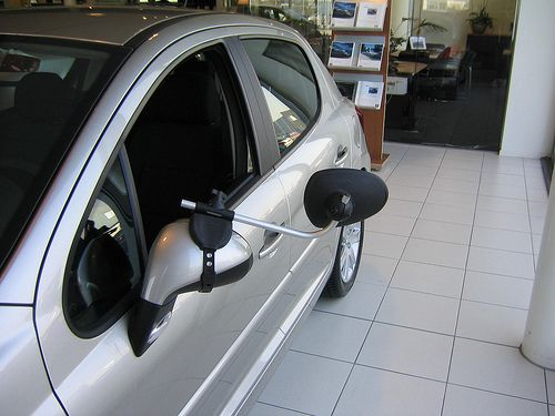 Repusel Wohnwagenspiegel Peugeot 207 Caravanspiegel