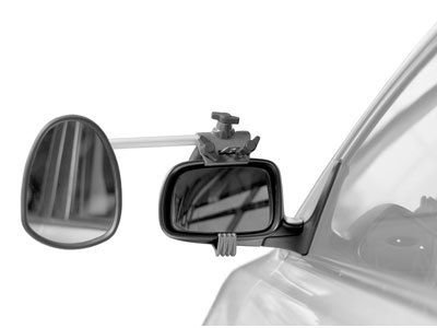 Repusel Luxmax, Glas konvex, Arm lang, EDELSTAHL