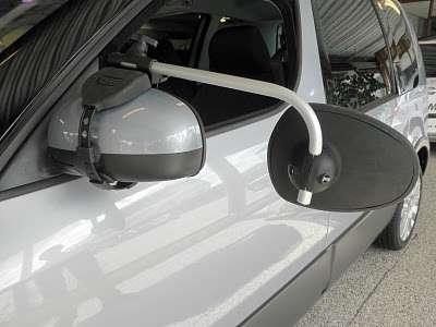 Repusel Wohnwagenspiegel Skoda Roomster Caravanspiegel