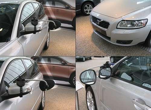 Repusel Wohnwagenspiegel Volvo V50 Caravanspiegel