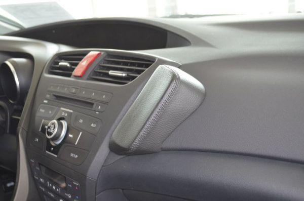 Perfect Fit Telefonkonsole Honda Civic, Bj. 02/2012 - Kunstleder