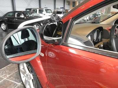 Repusel Wohnwagenspiegel Dodge Caliber Caravanspiegel