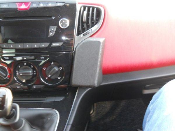 Perfect Fit Telefonkonsole Toyota Hi-Lux, Bj. 2005 -, Premium Echtleder