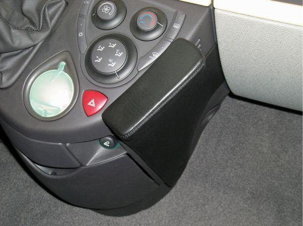 Perfect Fit Telefonkonsole Mitsubishi Pajero, Bj. 1991 - 04/2000, Premium Echtleder