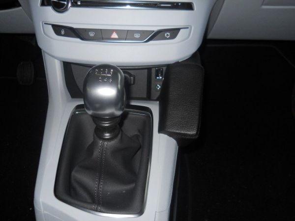 Perfect Fit Telefonkonsole Peugeot 308, Bj. 09/2013 - Kunstleder