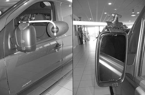 Repusel Wohnwagenspiegel Citroen Jumpy Caravanspiegel