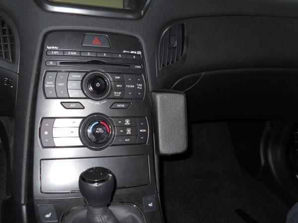 Perfect Fit Telefonkonsole Hyundai Genesis Coupe, Bj. 10/12 - Premium Echtleder