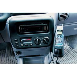Perfect Fit Telefonkonsole Chrysler Voyager, Bj. 96 - 00, Premium Echtleder