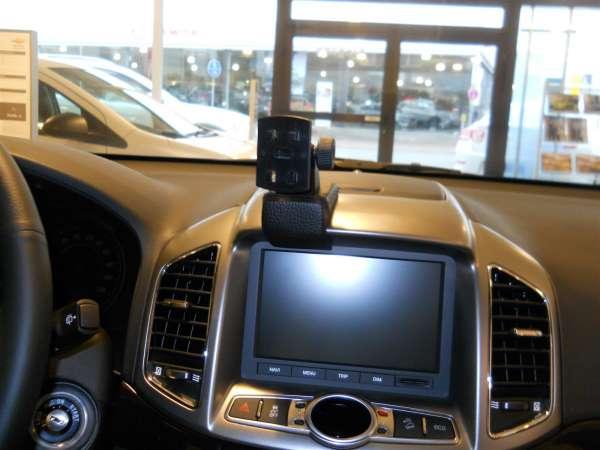 Perfect Fit Smartphonekonsole Telefonkonsole Chevrolet Captiva Bj. 10/11- drehbar!