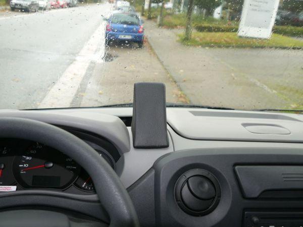 Perfect Fit Telefonkonsole Nissan Interstar, Bj. 04/10-, Opel Movano, Bj. 04/10-, Renault Master, Bj