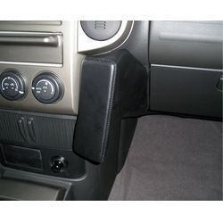 Perfect Fit Telefonkonsole Nissan X-Trail T30, Bj. 11/2003 - 06/2007, Premium Echtleder