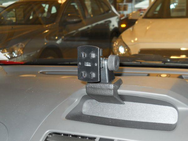 Perfect Fit Telefonkonsole Citroën Evasion, Bj. 96-, Premium Echtleder