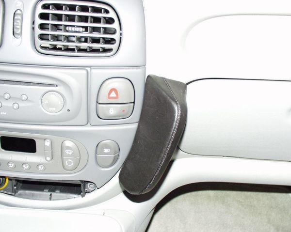 Perfect Fit Telefonkonsole Renault Scénic, Bj. 96-06/99, Premium Echtleder